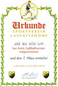 Urkunde Lassnitzhöhe